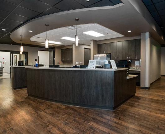 Express ER Reception Area